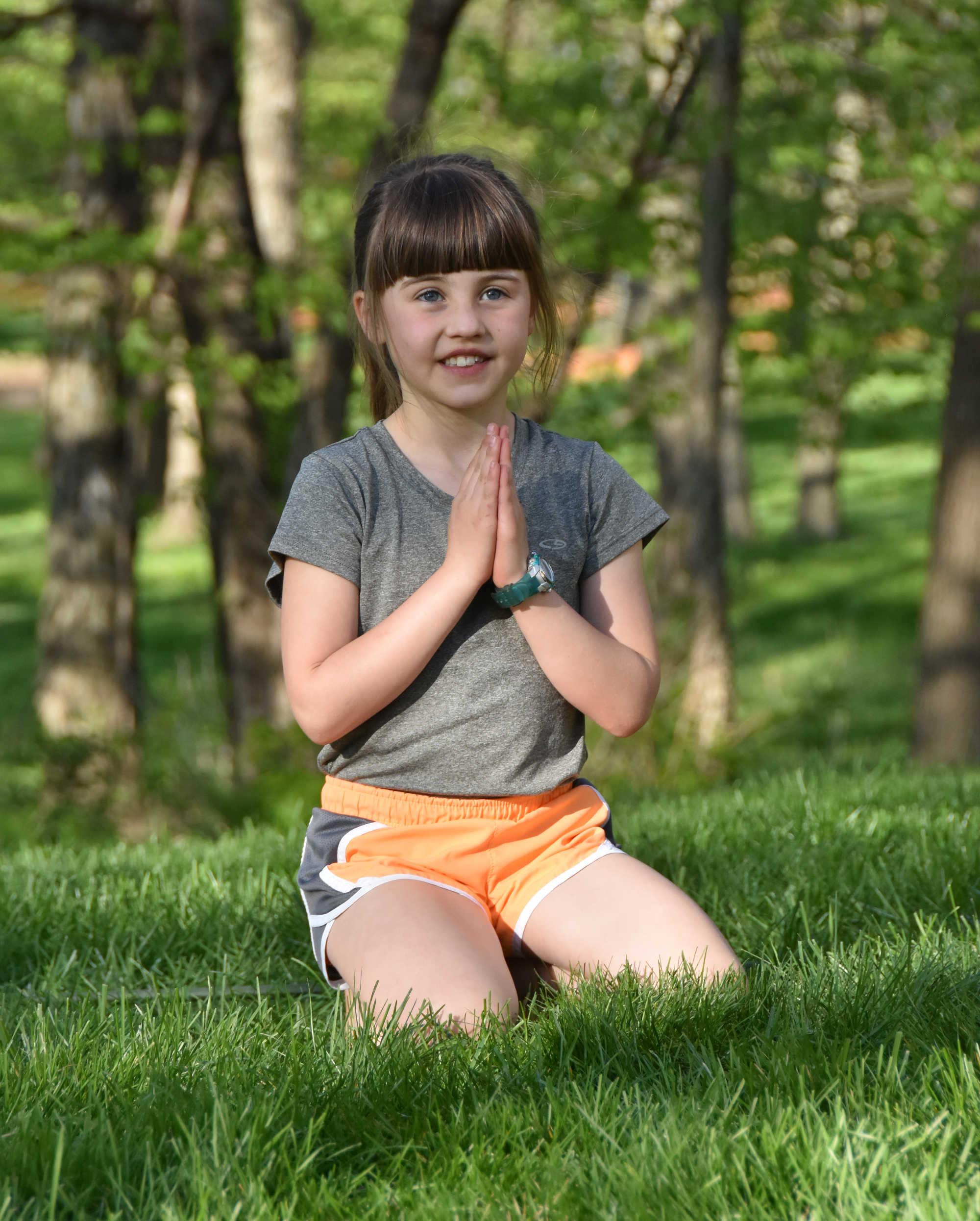 spring yoga pose