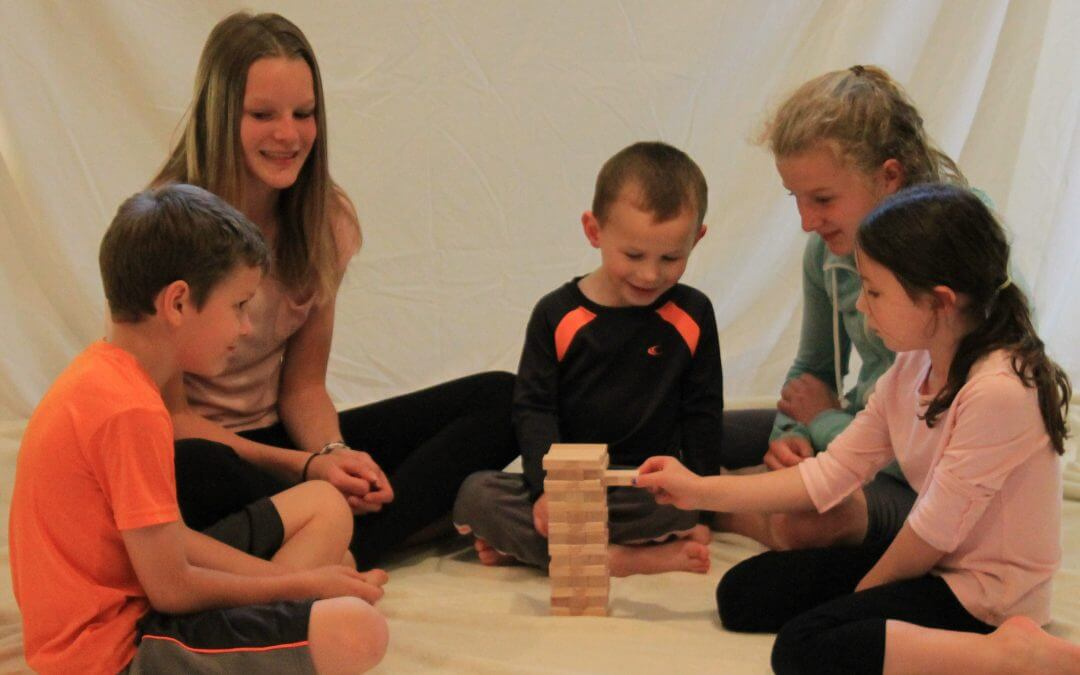 Jenga! Jenga! Take this Classic Game Up a Notch with Go Go Yoga for Kids
