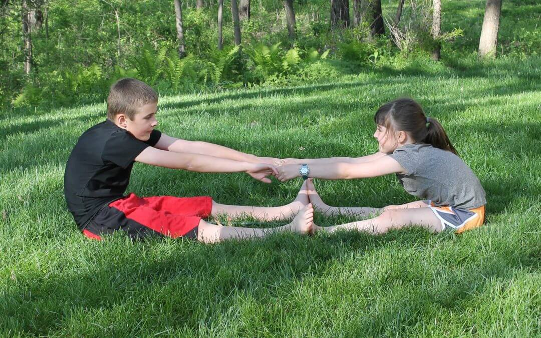 Partner Yoga Poses for Kids