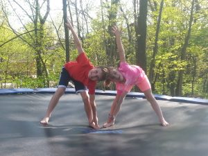 8 easy ways to do yoga at home with your kids  go go yoga