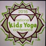 National Kids Yoga Conference button