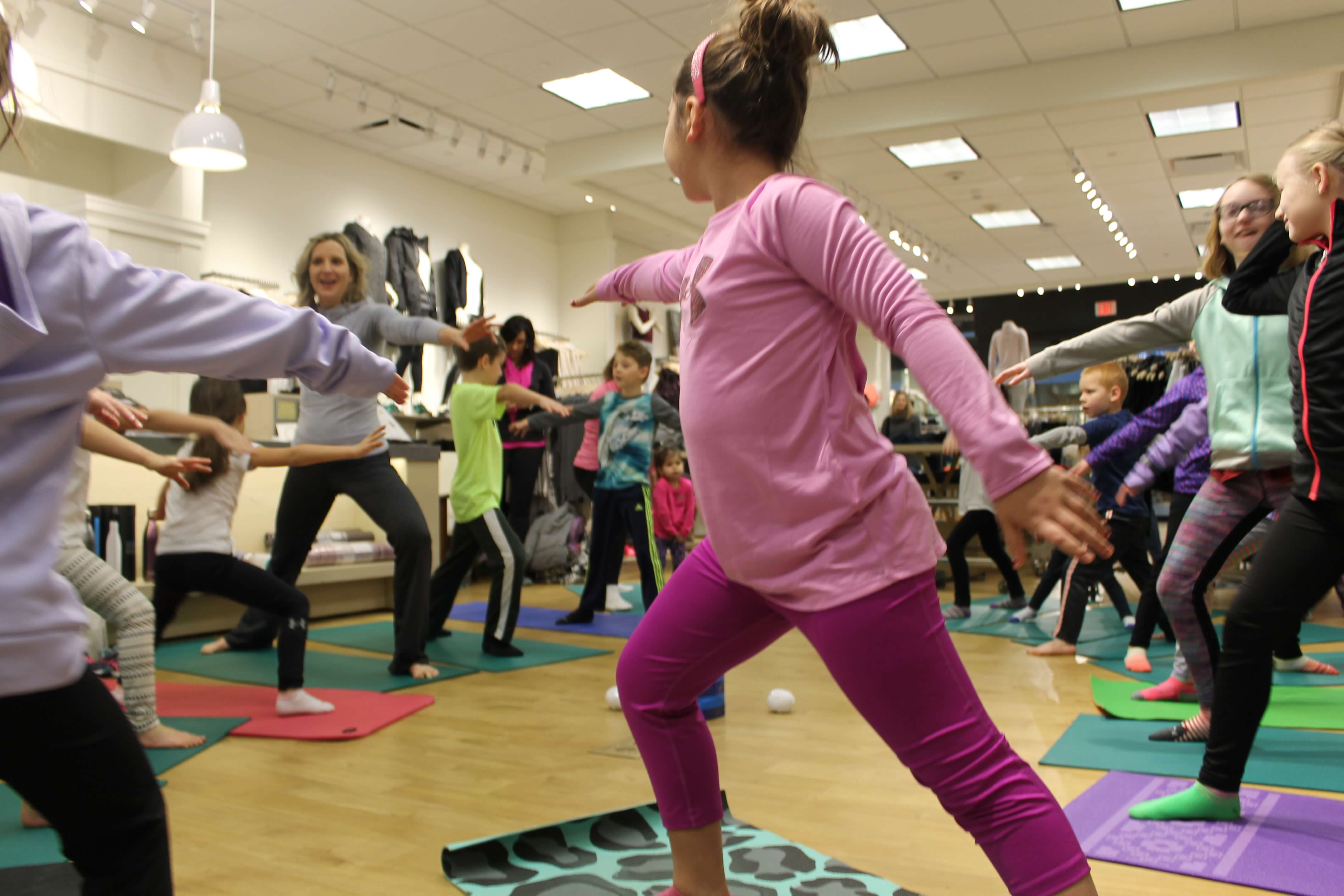 Winter Yoga Class With Kids - Go Go Yoga For Kids