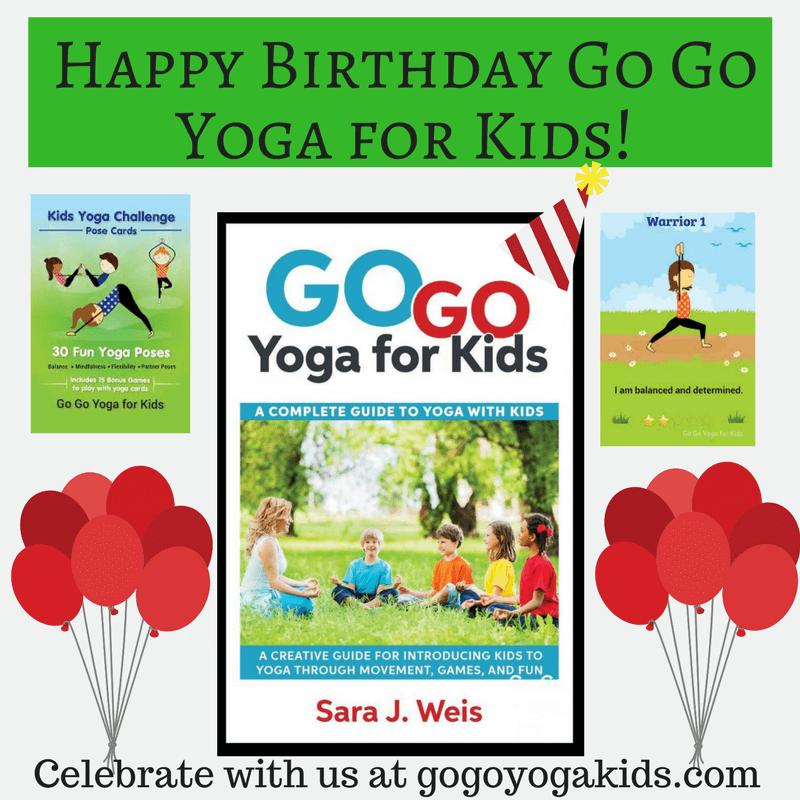 Happy Birthday Go Yoga For Kids