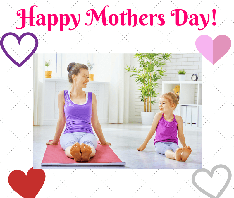 Celebrate Mother's Day With These Family Friendly Yoga Poses