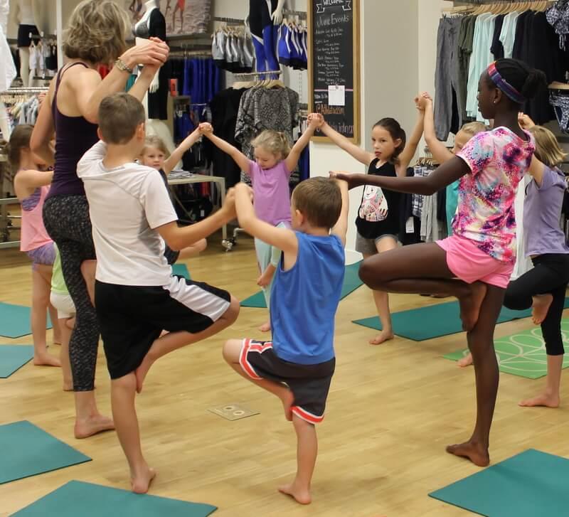 Partner Yoga for Kids Class - Go Go Yoga For Kids