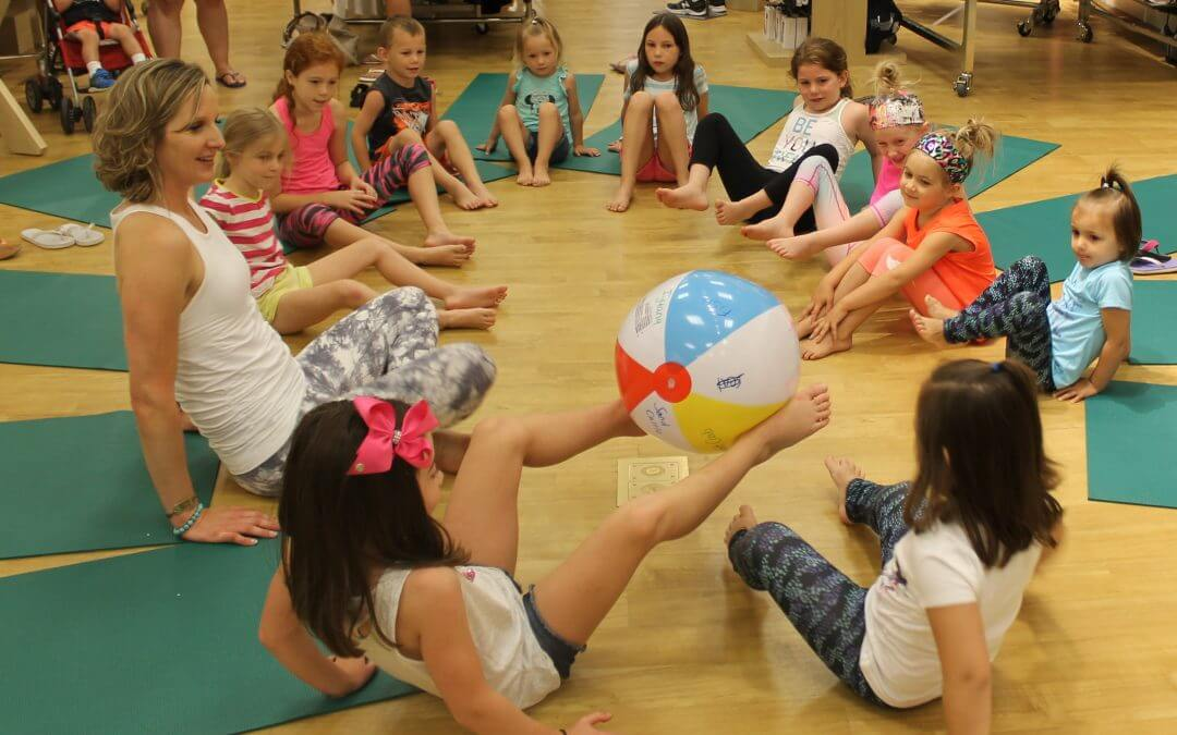 How to Play Summer Beach Ball Yoga