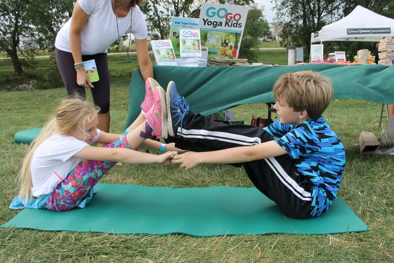 Yoga Partner Games For Kids