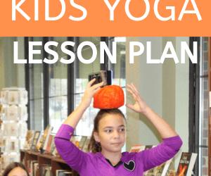 Free Fall Kids Yoga Lesson Plan