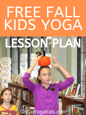 Free Fall Kids Yoga Lesson Plan