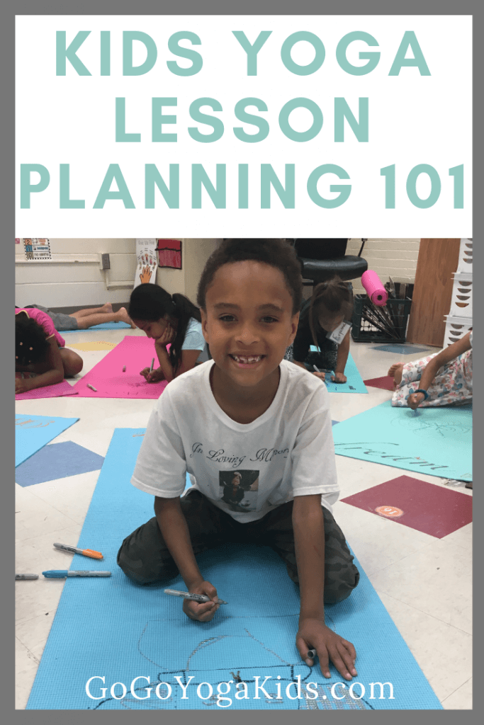 kids yoga lesson planning