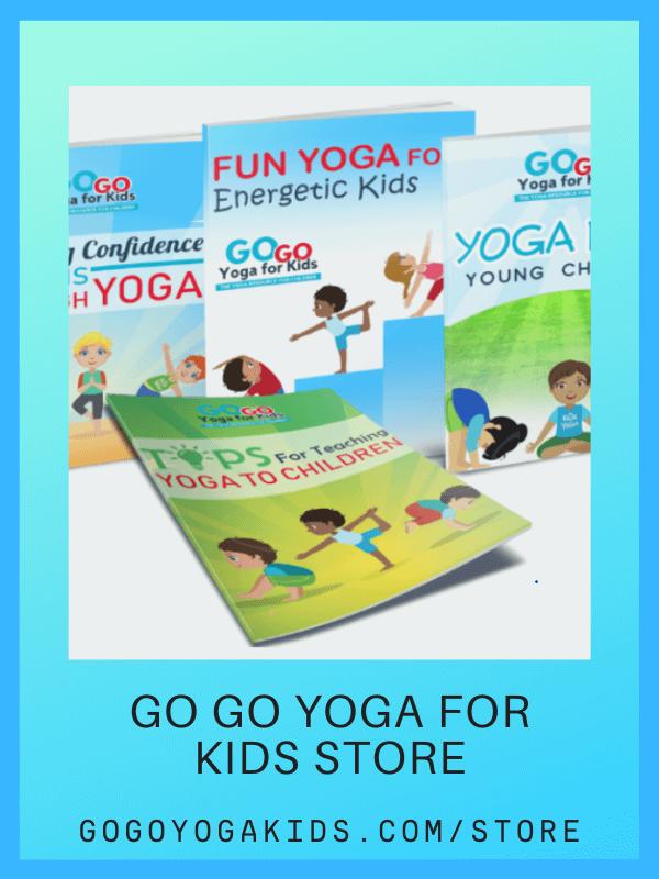 kids yoga lesson plan bundle