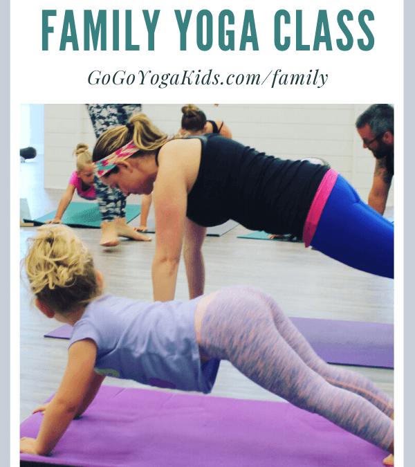 Live Family Yoga Class and Poses