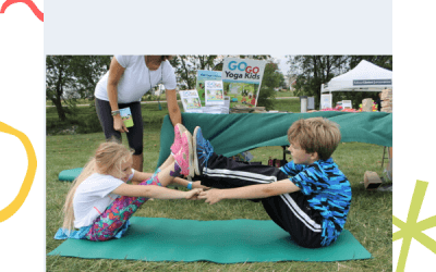 Family Spring Yoga Sequence
