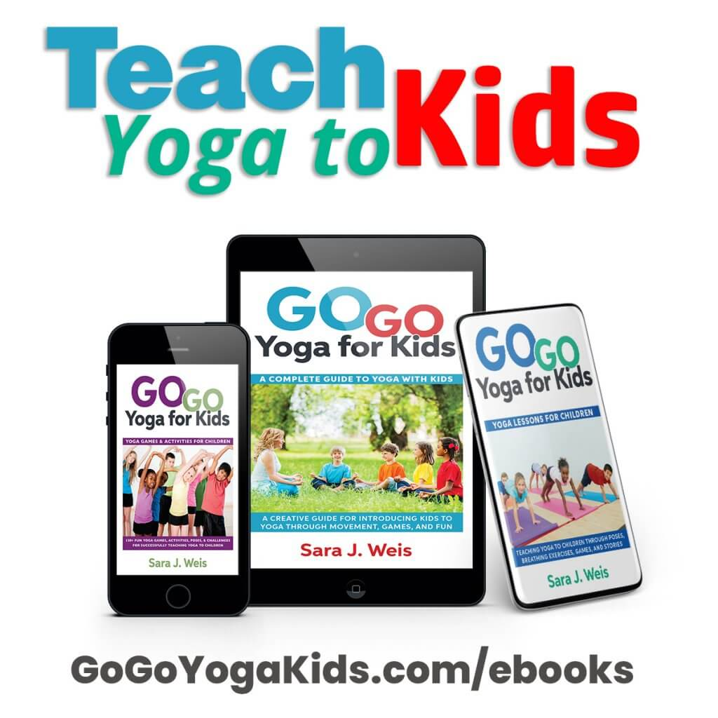 teach yoga to kids books