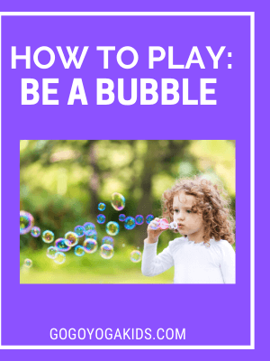 be a bubble