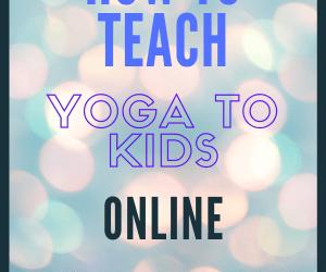 How to Teach Yoga Online