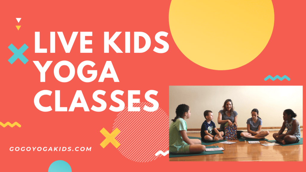 live kids yoga classes