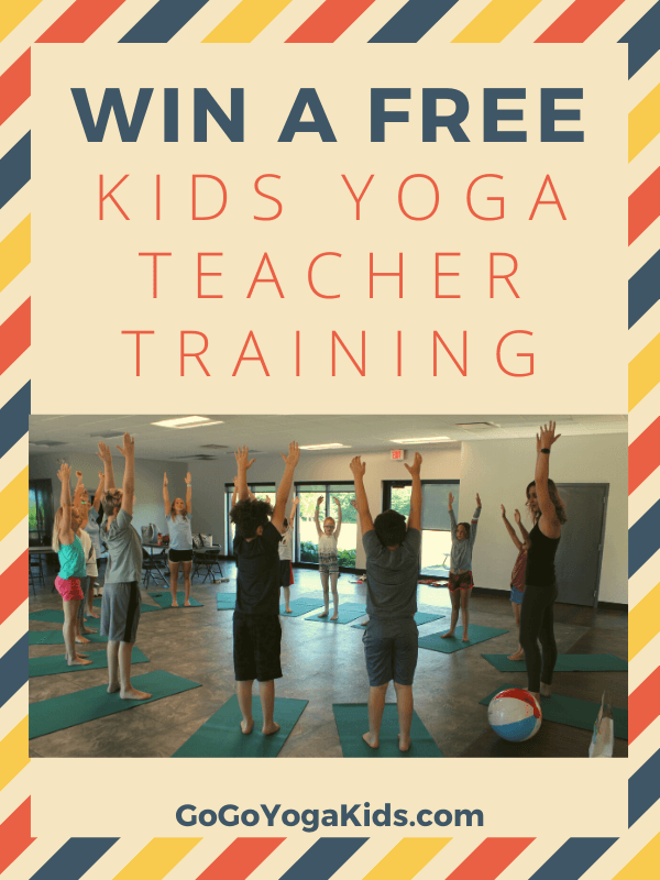 win a free kids yoga teacher training
