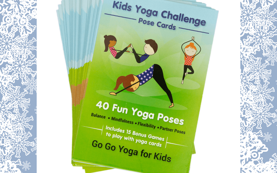 The Kids Yoga Challenge Pose Cards: A Holiday Gift for Families