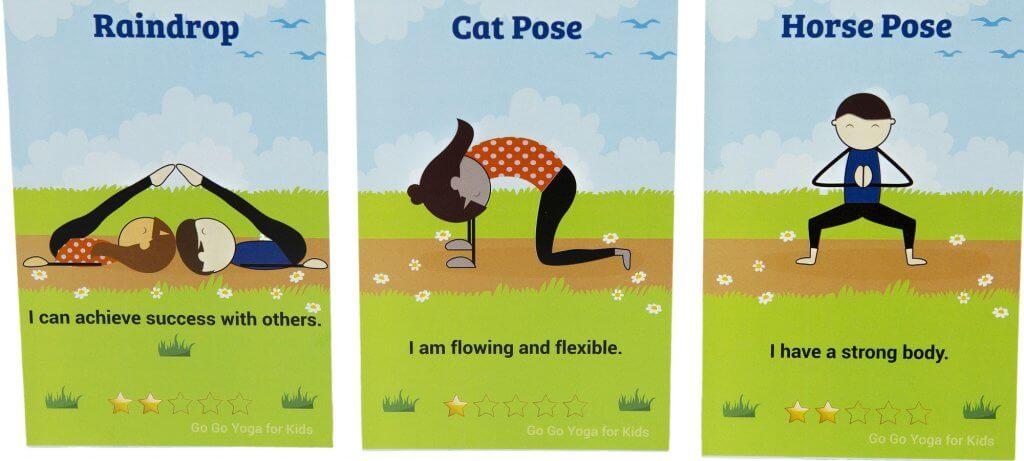 Kids Yoga Challenge Pose Cards