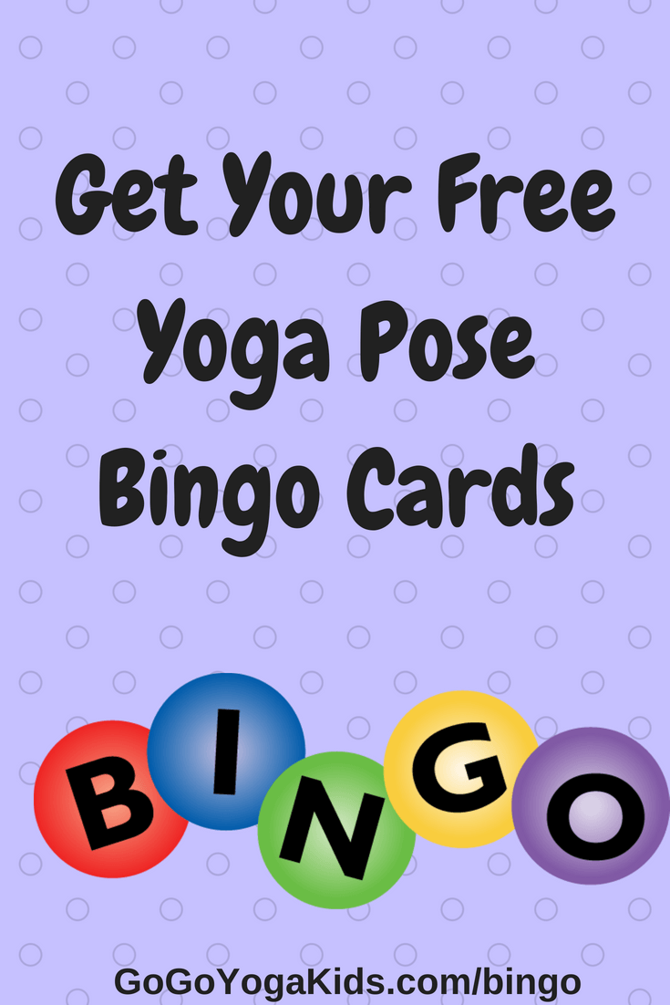 photograph about Yoga Cards Printable referred to as Totally free Yoga Pose Bingo Playing cards - Shift Shift Yoga For Small children