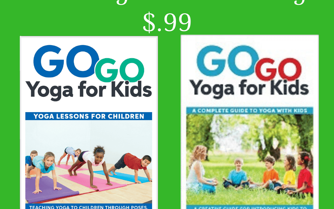 Hurry! Kids Yoga Teaching Guides for Only .99 for a Limited Time.