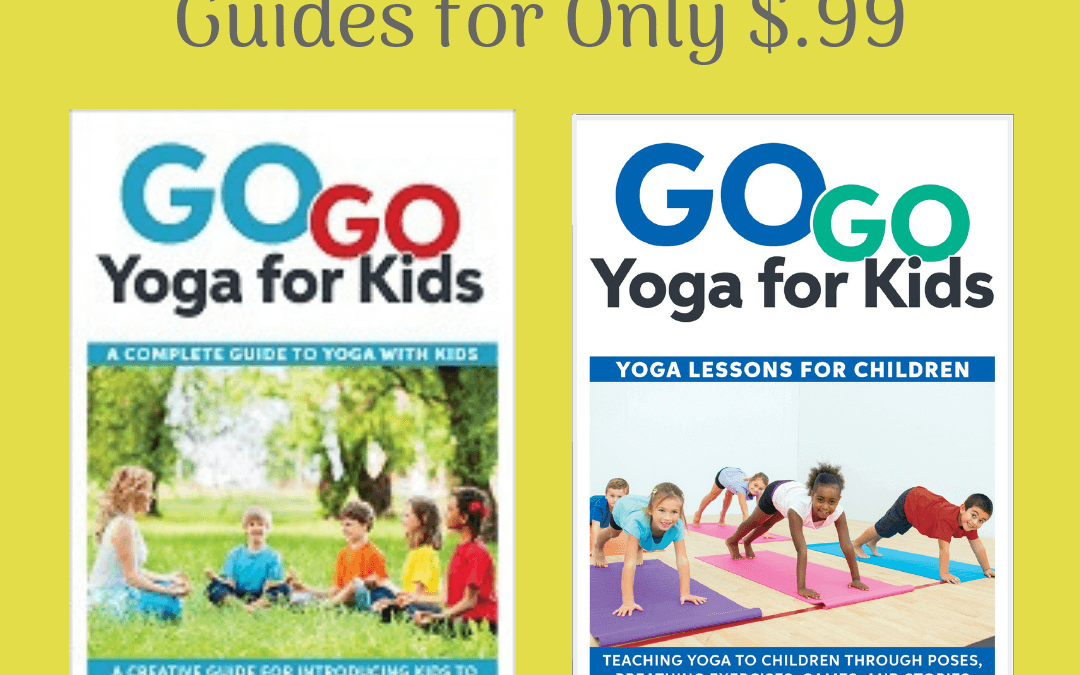 Limited Time! Teaching Kids Yoga Guides for only $.99 on Amazon