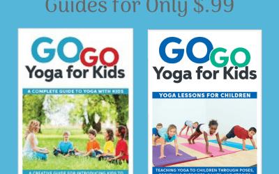Kids Yoga Books Summer Sale