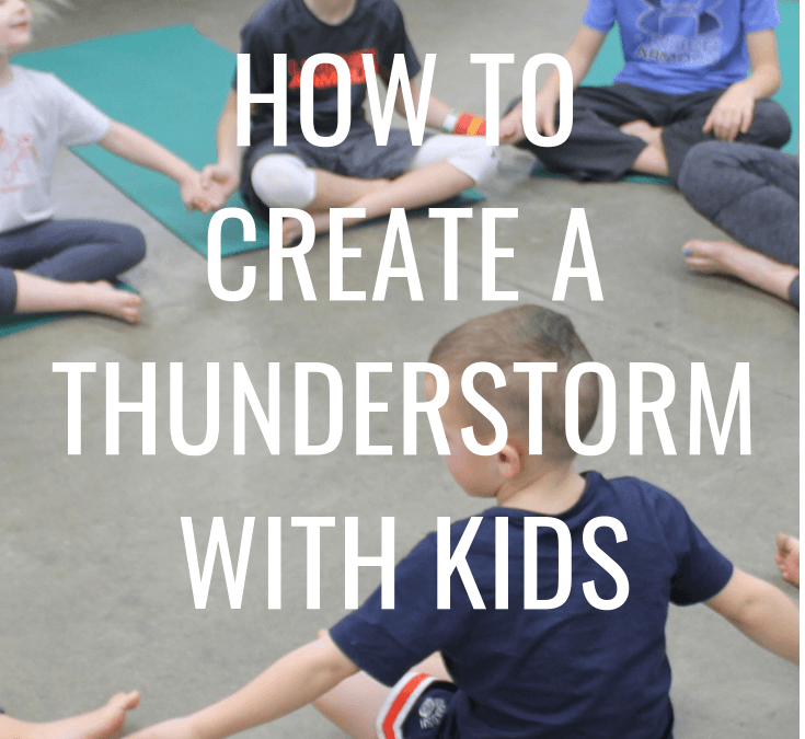 How to Create Your Own Thunderstorm With Kids