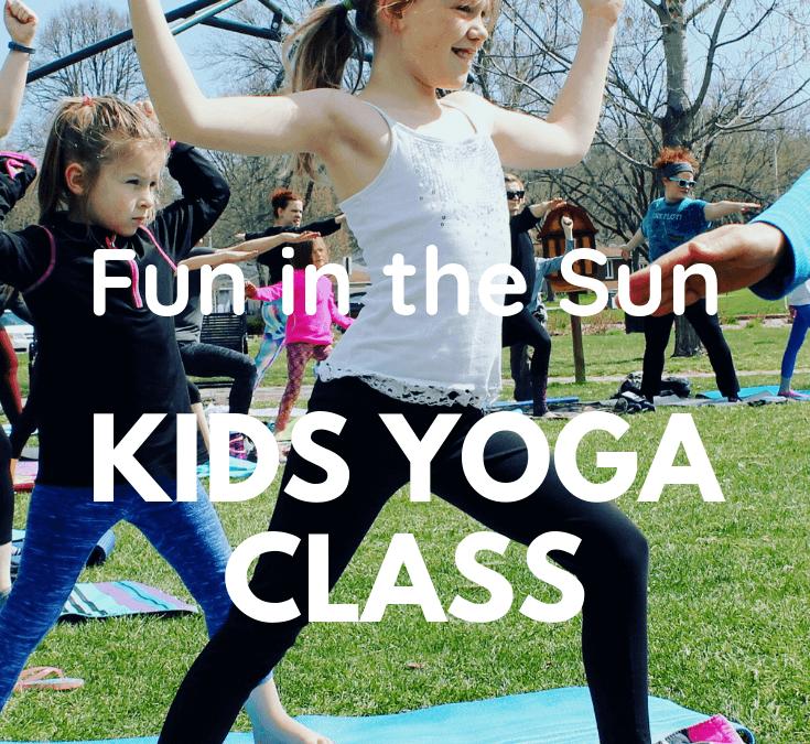 Fun in the Sun Kids Yoga Class at Athleta
