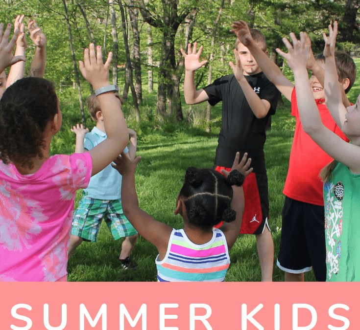 The Best Summer Yoga Games for Kids