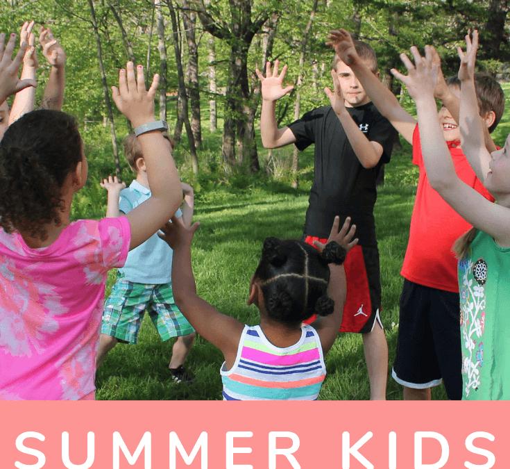The Best Summer Yoga Games for Kids - Go Go Yoga For Kids